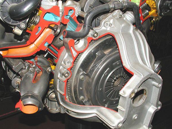 18-valve Biturbo engine