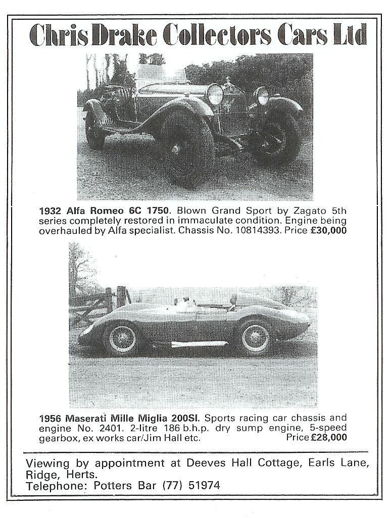 Joel E Finn, Maserati fancier