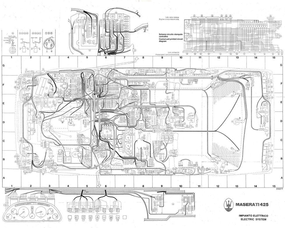 Biturbo 425 Wiring Diagram