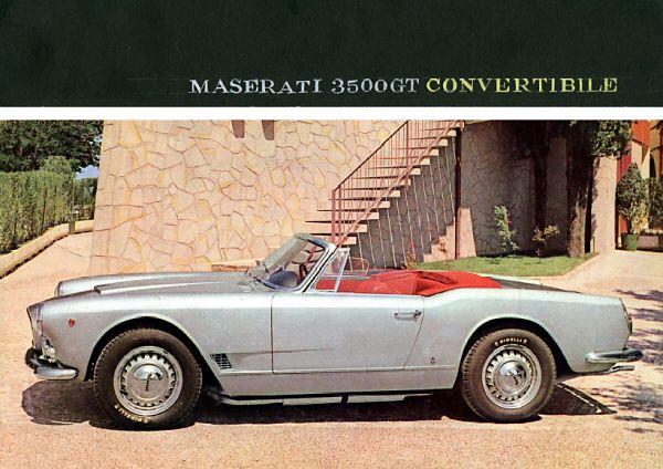 the maserati 3500 spyder vignale