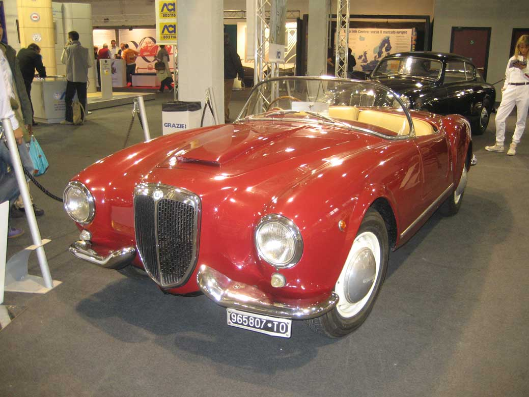 Rank lancia car pictures august 2010 1954 lancia aurelia b24 spider wallpapers vanachro Choice Image