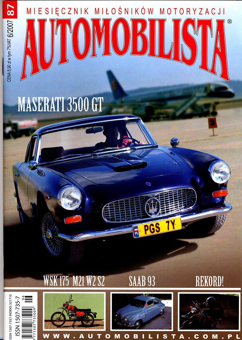 Maciek's Maserati 3500 GT