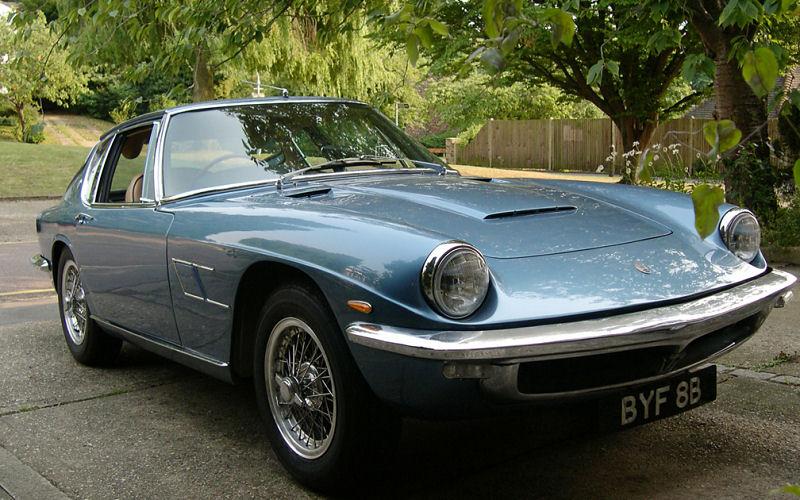 Lot 420: A 1964 Maserati Mistral by Frua