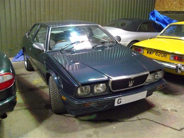 Ashley's 1990 2.8-litre Maserati 222 E
