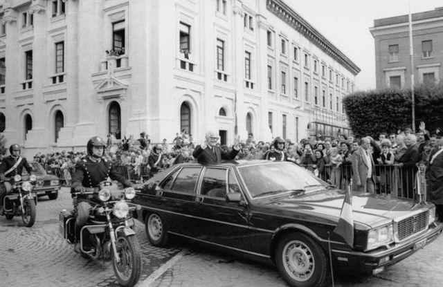 Maserati Quattroporte del Presidente Pertini