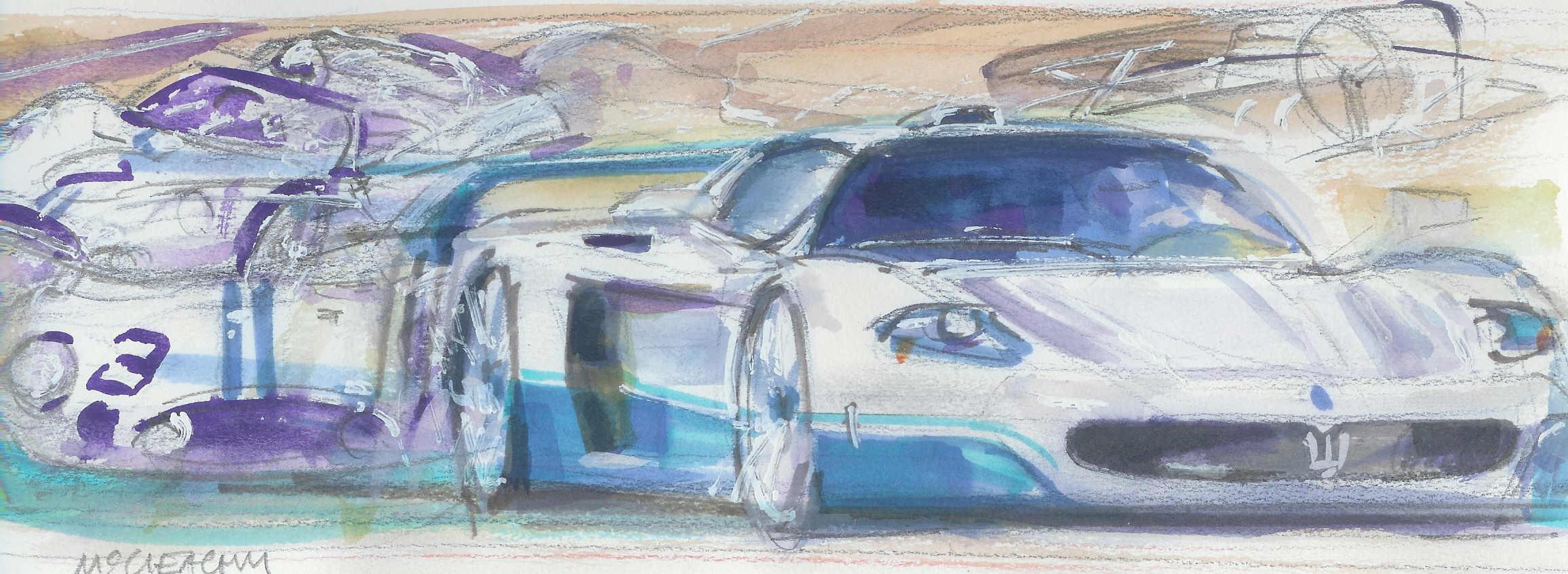 Maserati MC 12 sketch