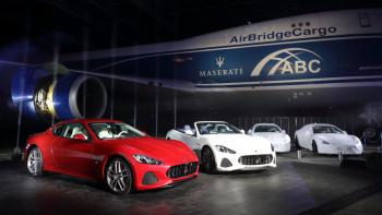 Maserati GranTurismo And GranCabrio MY18 Premiere In Japan.