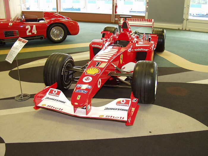 Las Ferraris F1 desde 2000 hasta hoy