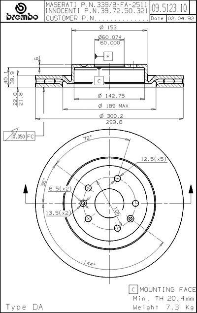 maserati enthusiasts page Maserati Biturbo Interior brembo technical drawing jonny s ghibli