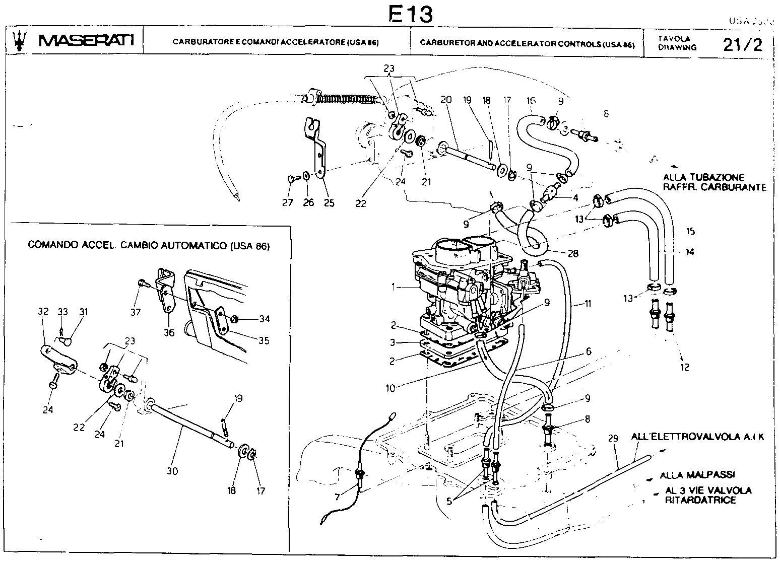 maserati spyder wiring diagram  maserati  auto wiring diagram
